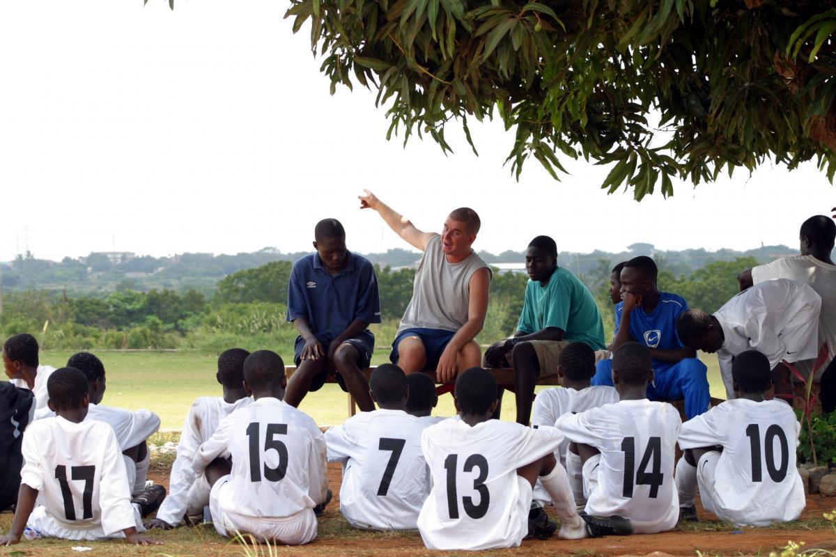 Vrijwilligerswerk Voetbalacademie Ghana