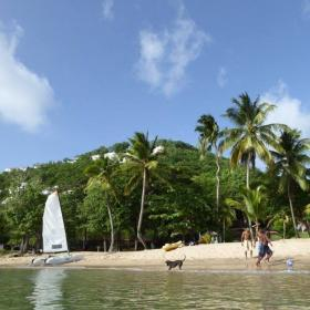 Stranden van Saint Lucia