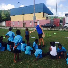 Sport vrijwilligerswerk Sint Lucia