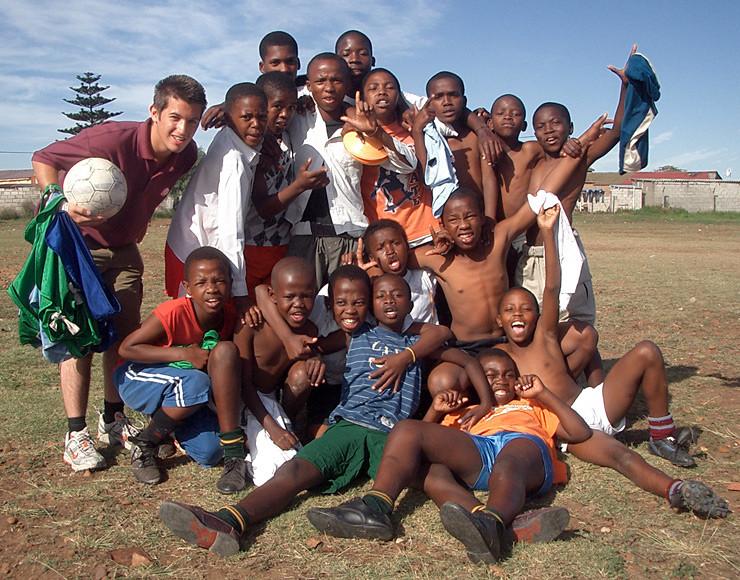 Stage lopen Zuid Afrika