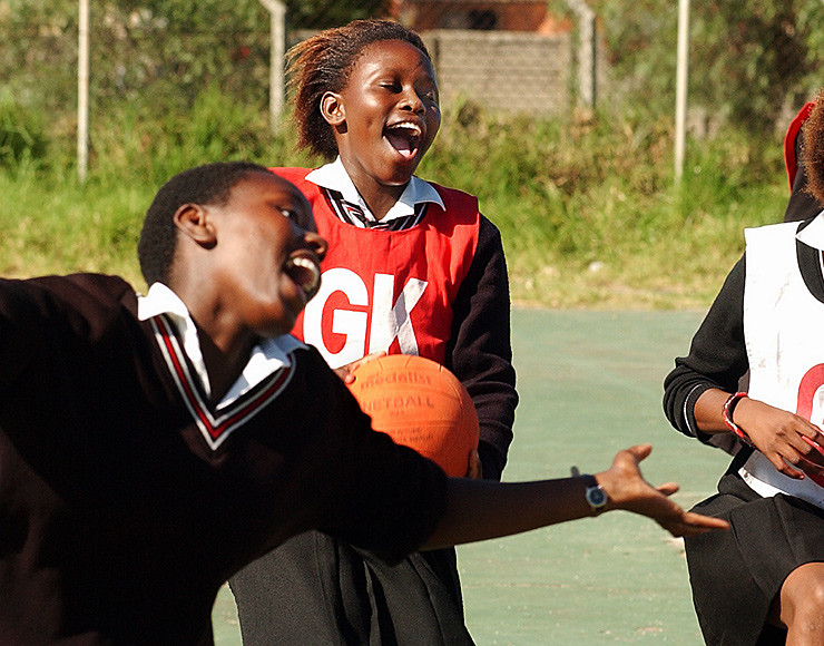 Stage lopen Zuid Afrika _netball