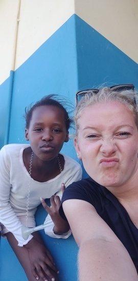 Juliette in Zuid-Afrika
